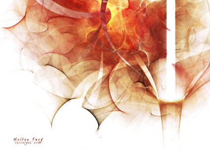 Abstract Orange Design
