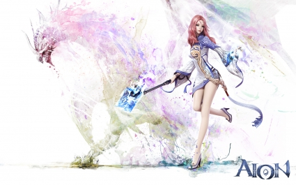 Aion Game Girl