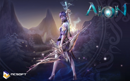 Aion Game Widescreen