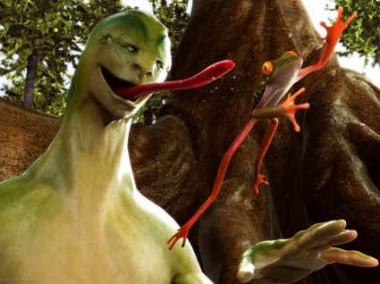 Alien Creature Wallpaper 3D Characters 3D