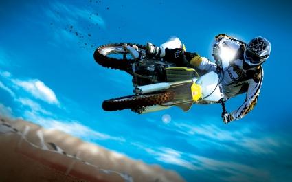 Amazing Motocross Bike Stunt