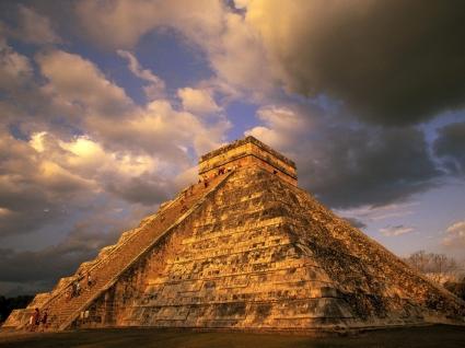 Ancient Mayan Ruins Wallpaper Mexico World