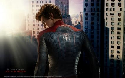 Andrew Garfield as Spider Man