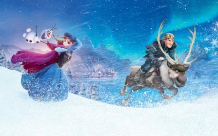 Anna Kristoff in Frozen
