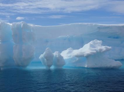 Antarctic Iceberg Wallpaper Winter Nature
