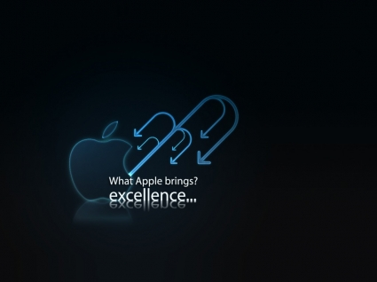Apple excellence Wallpaper Apple Computers