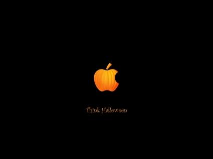 Apple Halloween Wallpaper Halloween Holidays