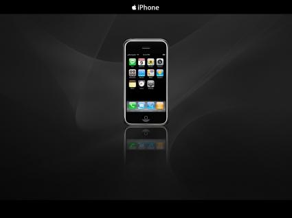 Apple iPhone in Dark