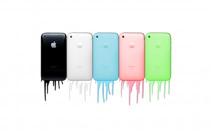 Apple iPhones in Colors