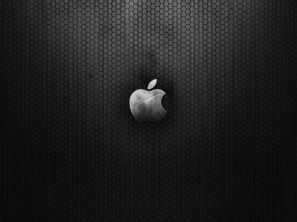 Apple Metal Wallpaper Apple Computers