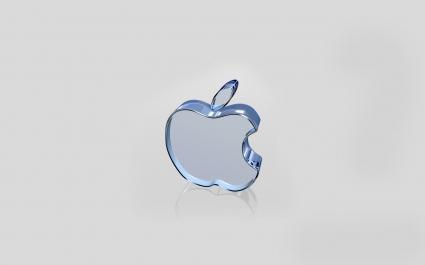 Apple White Glass