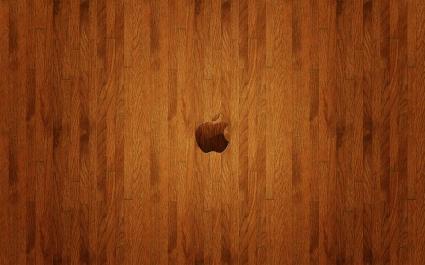 Apple Woden Logo