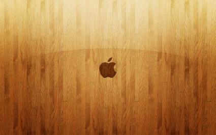 Apple Wooden Glass
