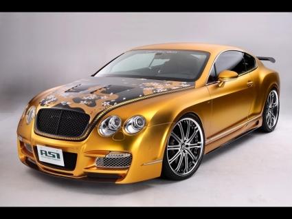 ASI Bentley Glod Wallpaper Bentley Cars