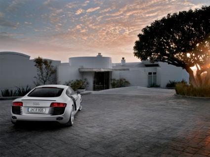 Audi R8 Landscape Wallpaper Audi Cars