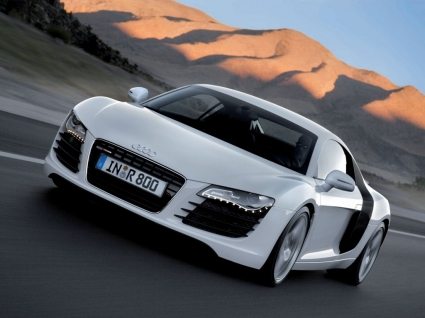 Audi R8 On The Road Wallpaper Audi Cars