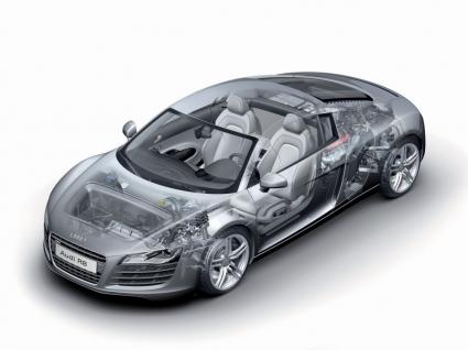 Audi R8 Transparency Wallpaper Audi Cars