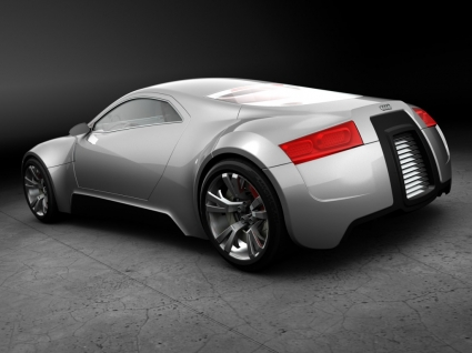 Audi R Zero Silver Wallpaper Audi Cars