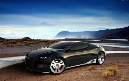 Audi Ultimate Black Concept