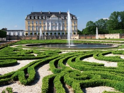 Augustusburg Castle Wallpaper Germany World