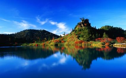 Autumn Reflection  Japan