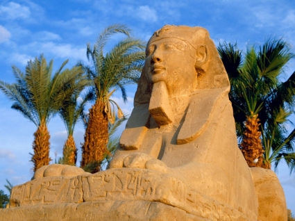 Avenue of Sphinxes Wallpaper Egypt World