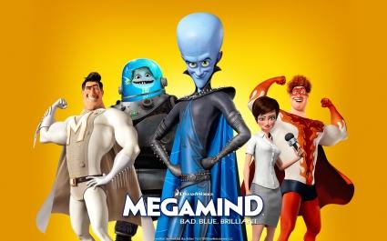 Bad Blue Megamind