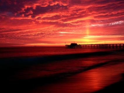 Balboa Pier, California