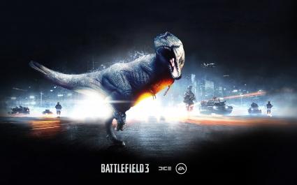 Battlefield 3 Dinosaur Mode