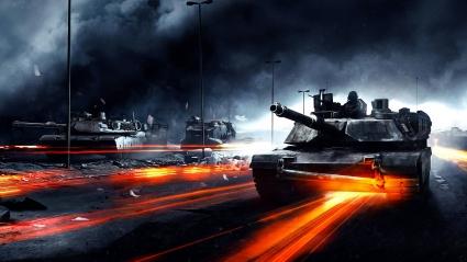 Battlefield 3 Tanks