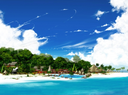Beautiful Sea Land