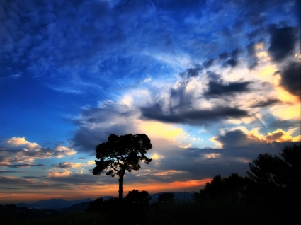 Beautiful Sky Wallpaper Landscape Nature