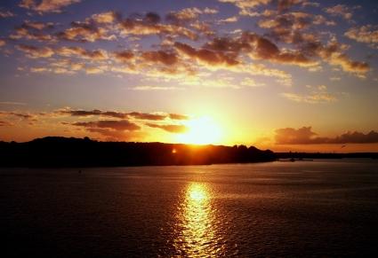 Beautiful Sunset in Kiel