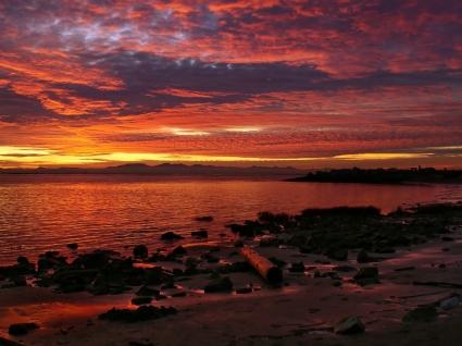 Beautiful Sunset Wallpaper Landscape Nature