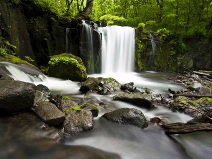 Beautiful Waterfall Wallpaper Rivers Nature