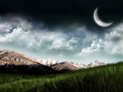 Beyond the Valley Wallpaper Landscape Nature