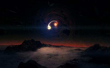 Black Hole Scene