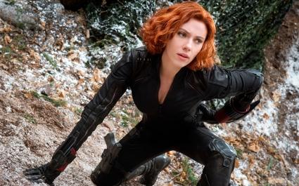 Black Widow in The Avengers 2