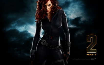 Black Widow Iron Man 2