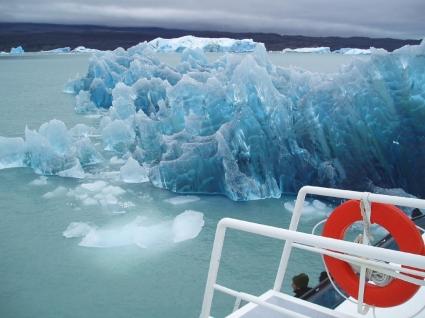 Blue iceberg Wallpaper Other Nature