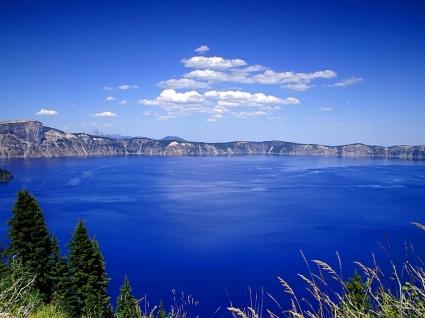 Blue Lake Wallpaper Landscape Nature