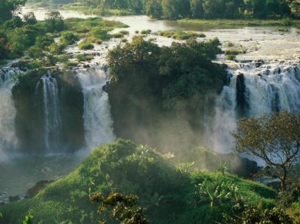 Blue Nile Falls Wallpaper Waterfalls Nature