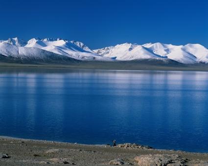 Blue Water in Winter