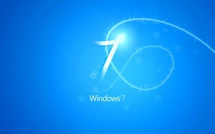 Blue Windows 7