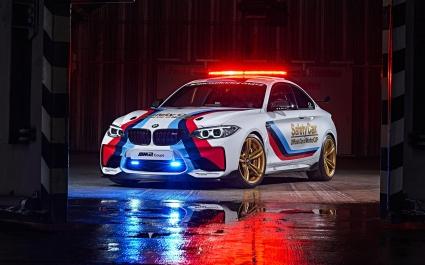 BMW M2 Motogp Safety 2016