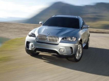 BMW X6 Active Hybrid Wallpaper Concept Cars