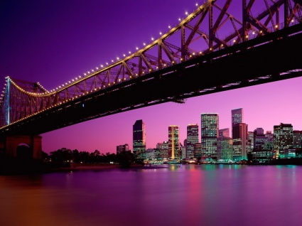 Brisbane Wallpaper Australia World