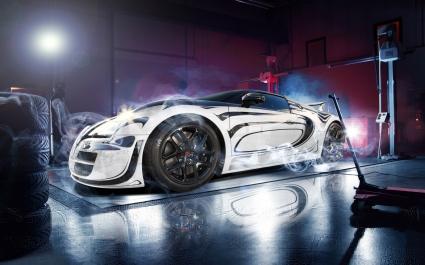 Bugatti Veyron Super Car