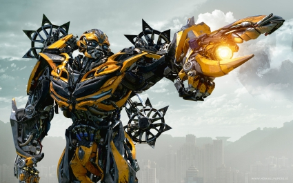 Bumblebee in Transformers 4 Age of Extinction