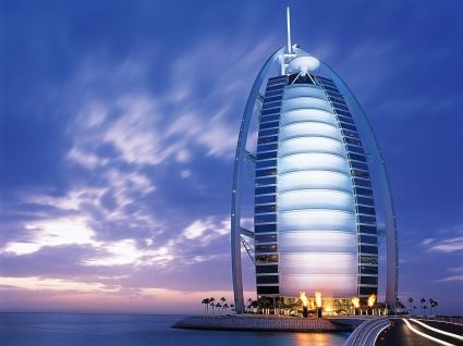 Burj Al Arab hotel Wallpaper United Arab Emirates World